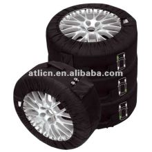 High quality stylish OEM custom SPARE TIRE COVER AT9001,snow sock