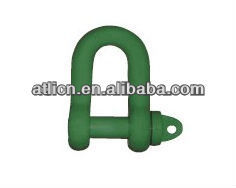 straight-shaped shackle Straight D shackle