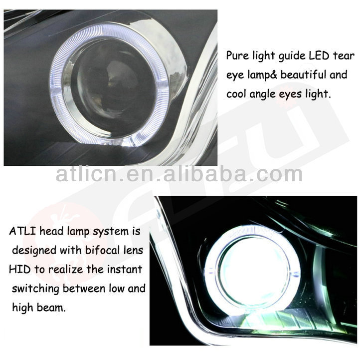 auto head lamp for IX35 LED light