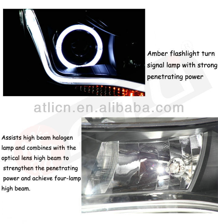 Modified LED car head lamp headlilght for ACCORD 2008-2011