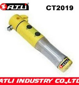 Practical and good quality car emergency hammer with LED Flashlight CT2003,bus emergency hammer