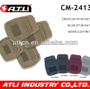 Hot sale rubber car mat 4pcs 5pcs set carpet car mat