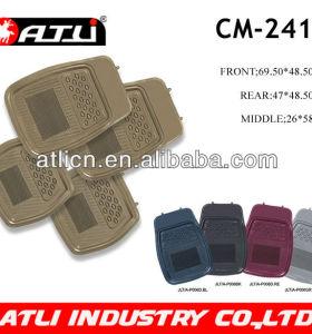 Hot sale rubber car mat 4pcs 5pcs set carpet car mat
