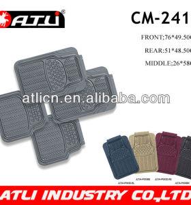 Rubber car mat for passenger car