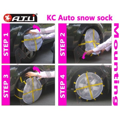 Universal best light textile snow chain