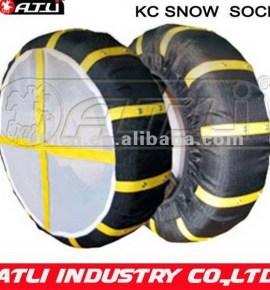New design, good sale KC auto sock, tire cover,auto snow cover