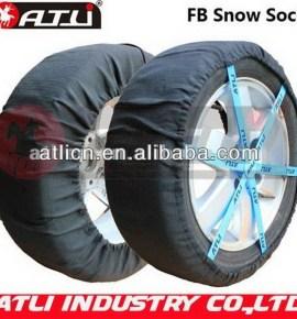 New design, good sale FB type Auto snow sock,tire cover,