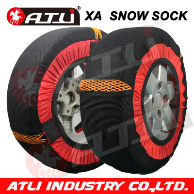 New design fabric snow chain for carfactory price