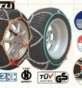 2013 hot selling kns12mm snow chains for cars