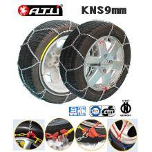 kns 9mm antiskid chain/snow chain/tire chain for passenger car