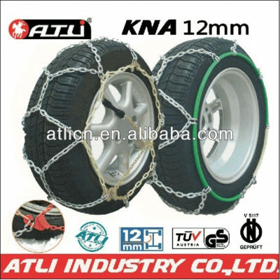 Quick mounting Diamond Type KNA12mm for passenger car,TIRE CHAIN SNOW CHAIN