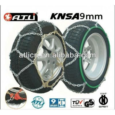 Diamond Type KNSA 9mm for passenger car tire snow chains