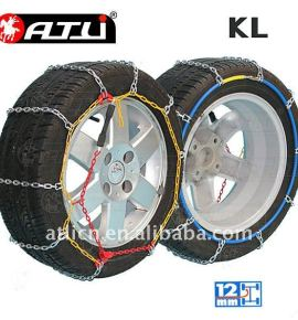 Quick mounting Ladder KL Type snow chain for passenger car,tire chain ,anti-skip chain