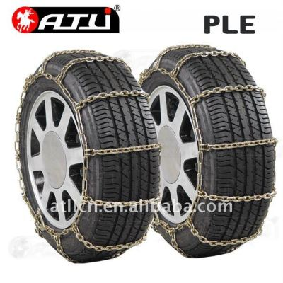 Economic PLE Type Snow chains for Passenger car, anti-skid chain,tire chain