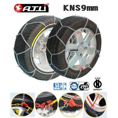 kns 9mm antiskid chain/snow tire chains for passenger car