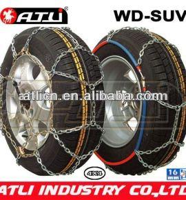 Quick mounting 4X4 /SUV chain---WD-SUV16mm Diamond Type snow chain anti-skid