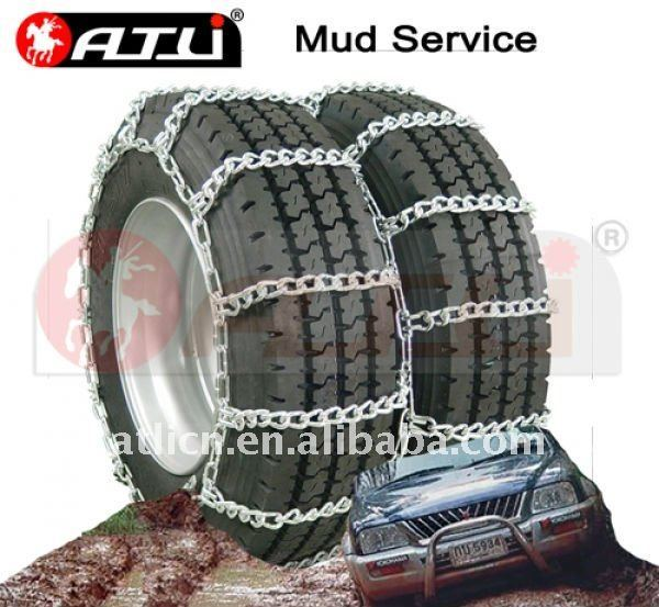 44'S Twist Link dual Mud service snow chains,anti-skid chains, tire chains