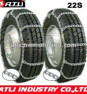 22'S Twist Link Single HighWay Truck chain,snow chain for truck,anti skid chains, tire chains