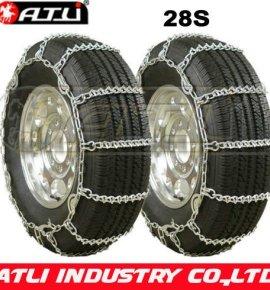 28'S Twist Link Dual V-Bar snow chains, tire chains anti-skid chains
