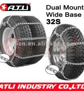 2013 new high power dual mount wide base truck anti skid chains