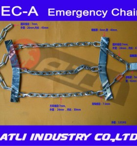 Latest high performance zincing truck chain