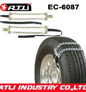 Adjustable qualified high power emergency tire chains