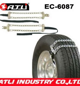 Safety high power plastic snow chain for cars