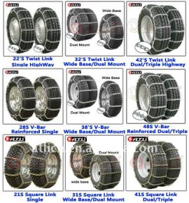 Different Models Snow Chains For Cars