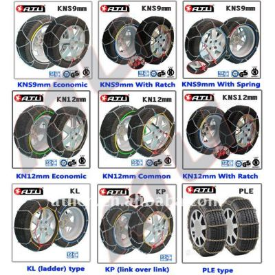 Different Models Snow Chains For truck