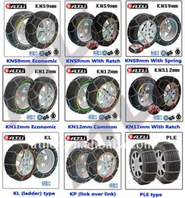 Different Models Truck Snow Chains