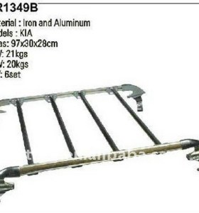 Modern custom-made adjustable roof rack