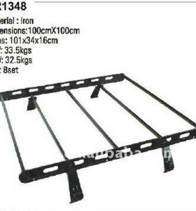 2013 creative adjustable car luggage rack for boat support