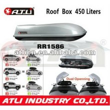 Newest customized roof rack top cargo carrier box