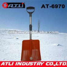 High quality factory price new design garden snow shovel AT-6970,folding snow shovel