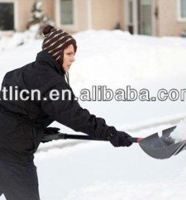 High quality factory price new design garden snow shovel AT-503,folding snow shovel