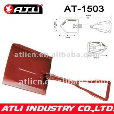 High quality factory price new design garden snow shovel AT-1503,folding snow shovel