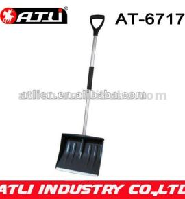 High quality factory price new design garden snow shovel AT-6717,Aluminum snow shovel