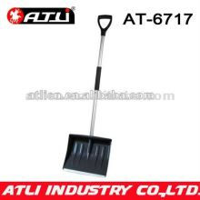 High quality factory price new design garden snow shovel AT-6717,Aluminum snow shovel