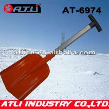 High quality factory price new design garden snow shovel AT-6974,folding snow shovel