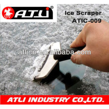 Practical and good quality hand held plastic ice scraper ATIC-009, ice scraper with gloves
