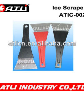 Practical and good quality hand held plastic ice scraper ATIC-002, ice scraper with gloves