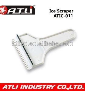 Practical and good quality Hand held plastic ice scraper ATIC-011, ice scraper with gloves