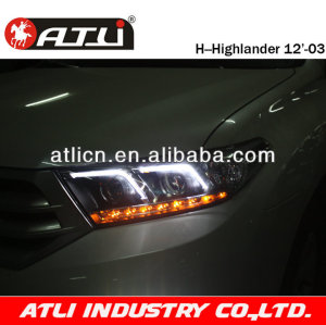 Refitting Modified car Led head lamp FOR Highlander 09'