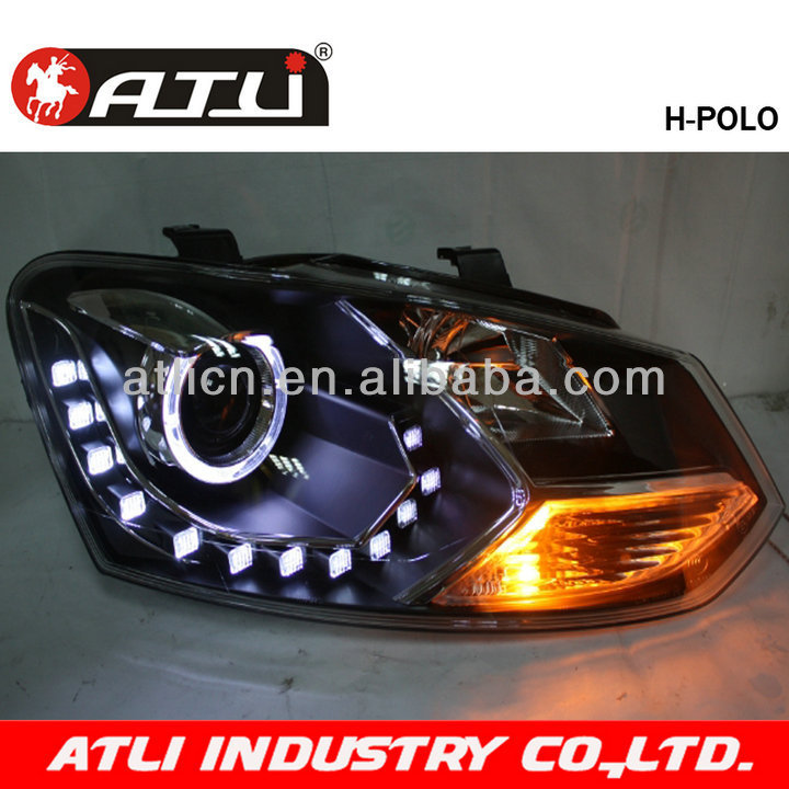 Modified auto LED head lamp for POLO