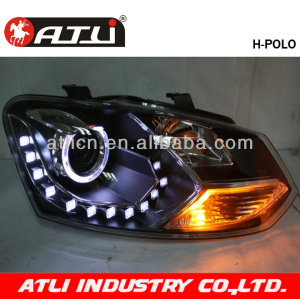 LED angle eyes head lamp for POLO 2011