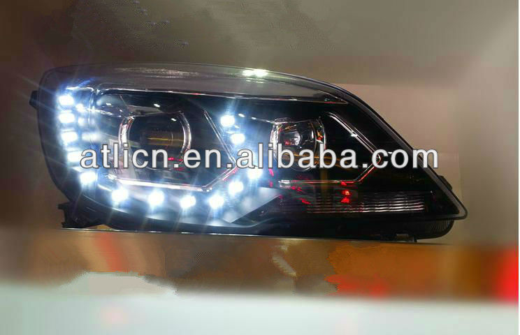 Led head lamp for volkswagen jetta sagitar (ISO9001&TS16949)