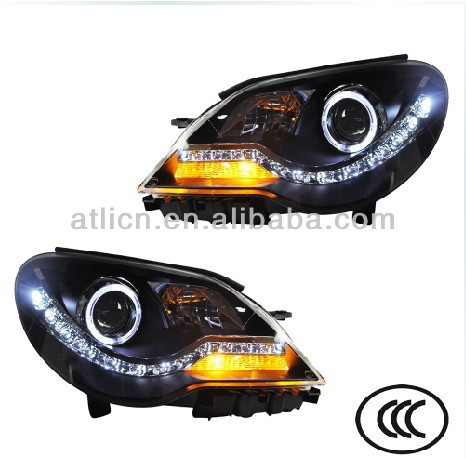 head lamp LED bi-xenon head lamp for new Bora