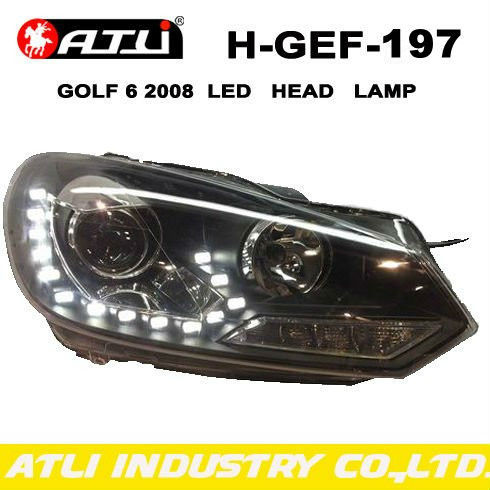 Modified CAR LED HEAD LAMP FOR VOLKWAGEN GOLF6