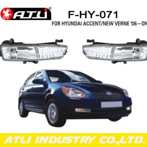 Replacement LED fog lamp for HYUNDAI ACCENT/NEW VERNE '06-ON