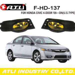 Replacement LED fog lamp for Honda Civic 4-door '09-on